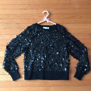 NEW Michael Kors MICHAEL Sequin Sweater *XS